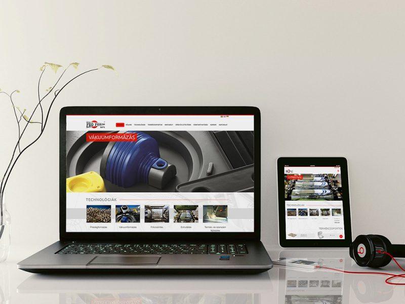 proform weboldal tartalom készítés