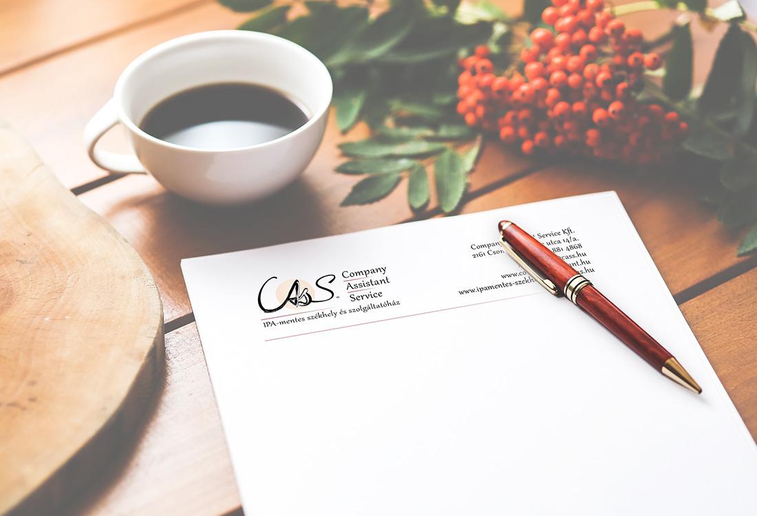 cass levélpapír design készítés