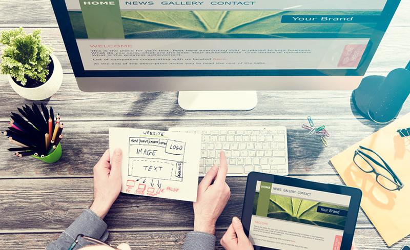 weboldal tervezése online